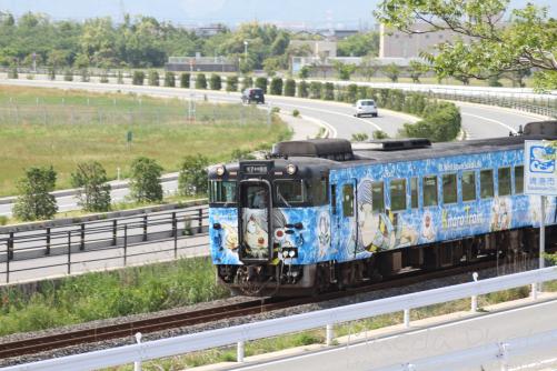 鬼太郎列車を撮ってみたけども画像2