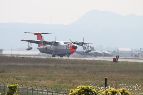 美保基地航空祭前日に着陸した飛行機画像3