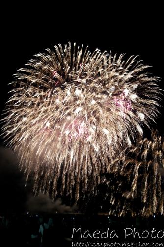 スマホで撮った花火2012画像1