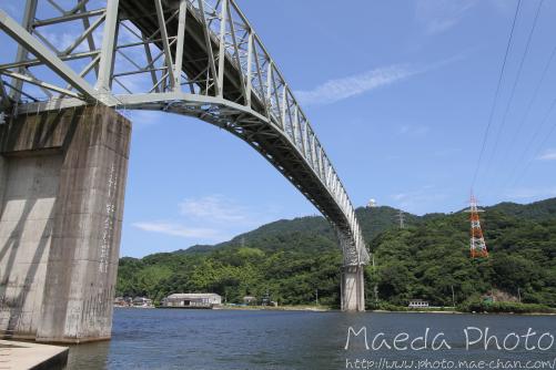 青空と境水道大橋2012画像1