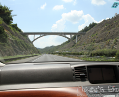 車窓からの瀬戸大橋2012画像1