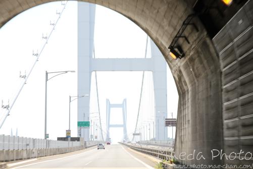 車窓からの瀬戸大橋2012画像2