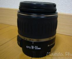 EF-S18-55mm F3.5-5.6 USM画像1
