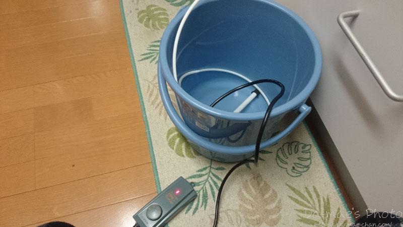 水槽の水換え(2014/11/3)画像1
