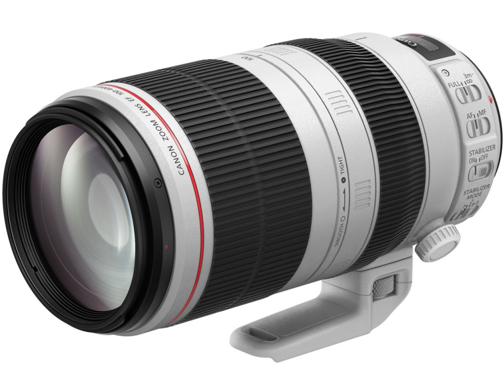 EF100-400mm F4.5-5.6L IS II USM発表画像