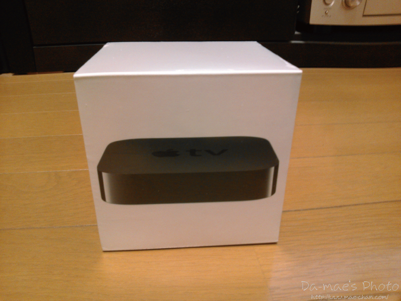 Apple TV MD199J/A画像1