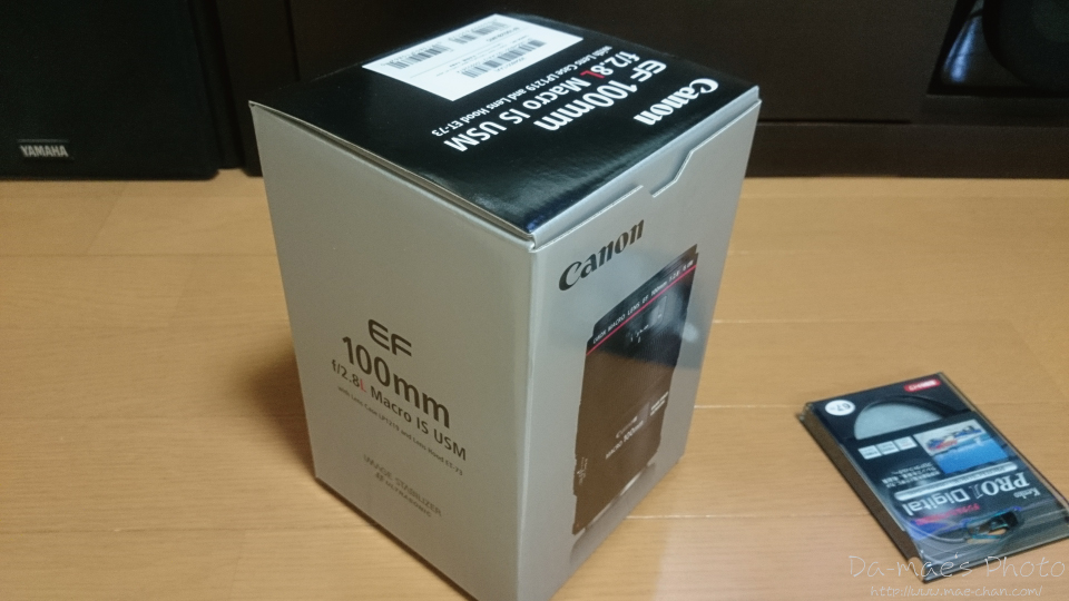 EF100mm F2.8L MACRO IS USM 購入画像1