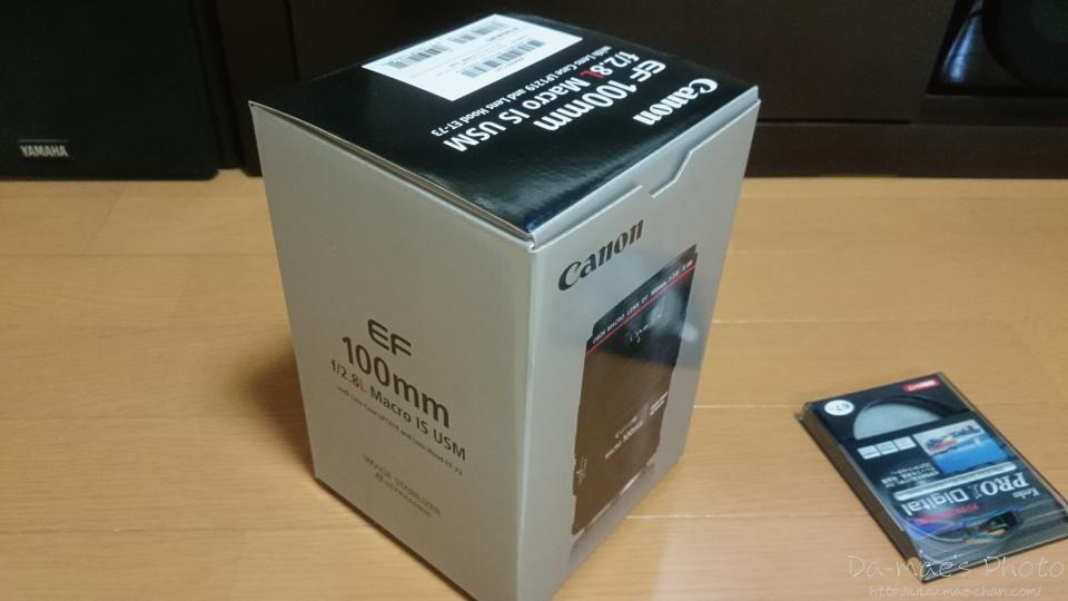 EF100mm F2.8L MACRO IS USM 購入画像1