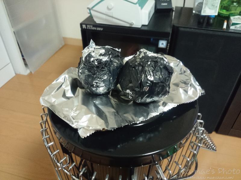 ストーブで焼き芋画像1