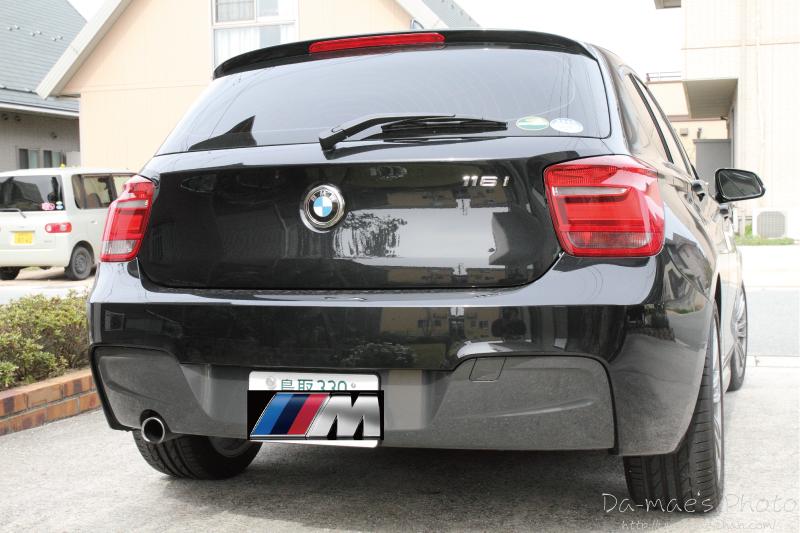 BMW116i M Sport初撮影画像4