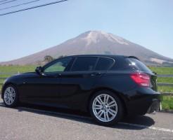 BMWで初大山画像1