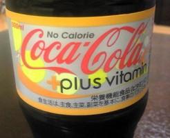 ノーカロリーコカ・コーラ プラスビタミン画像
