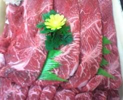 岡山県、黒毛和牛のすき焼き画像1