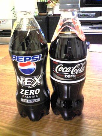 ゼロカロリーコーク(Coke)画像