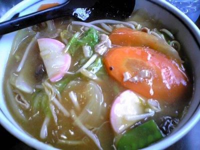 米子市らーめん満州味の五目ラーメン1画像1