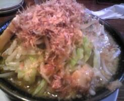 米子市ラーメン笑福の野菜増し画像1