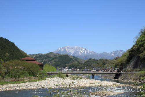 江府中学校周辺から大山画像1