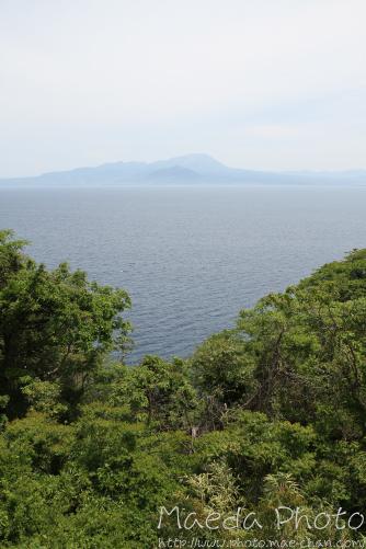 地蔵崎からの霞んだ大山画像3