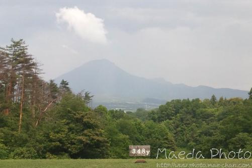 グリーンパーク大山ゴルフ倶楽部からの大山画像