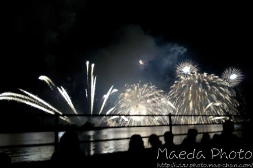 水郷祭の花火2012画像2