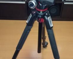 Manfrotto 190プロアルミニウム三脚3段 +RC2付3ウェイ雲台キット購入画像2
