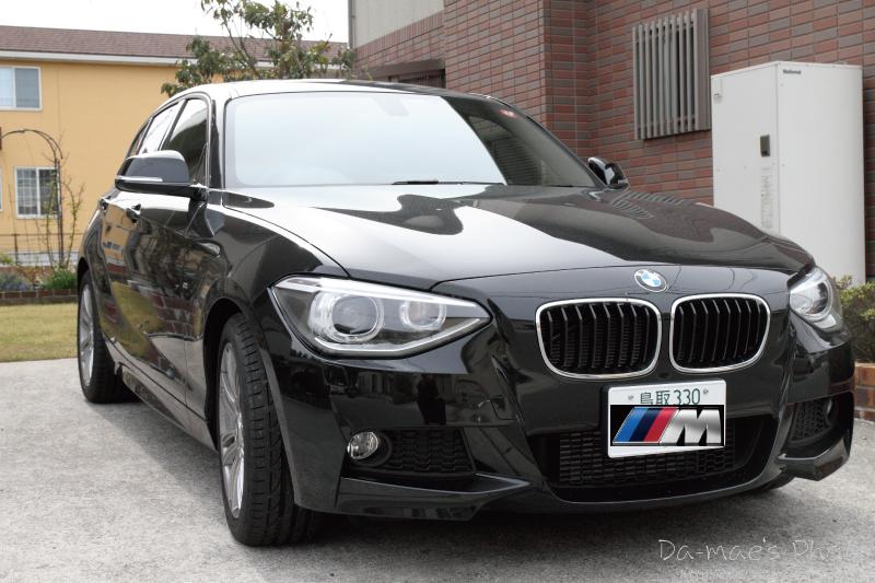 BMW116i M Sport初撮影画像1