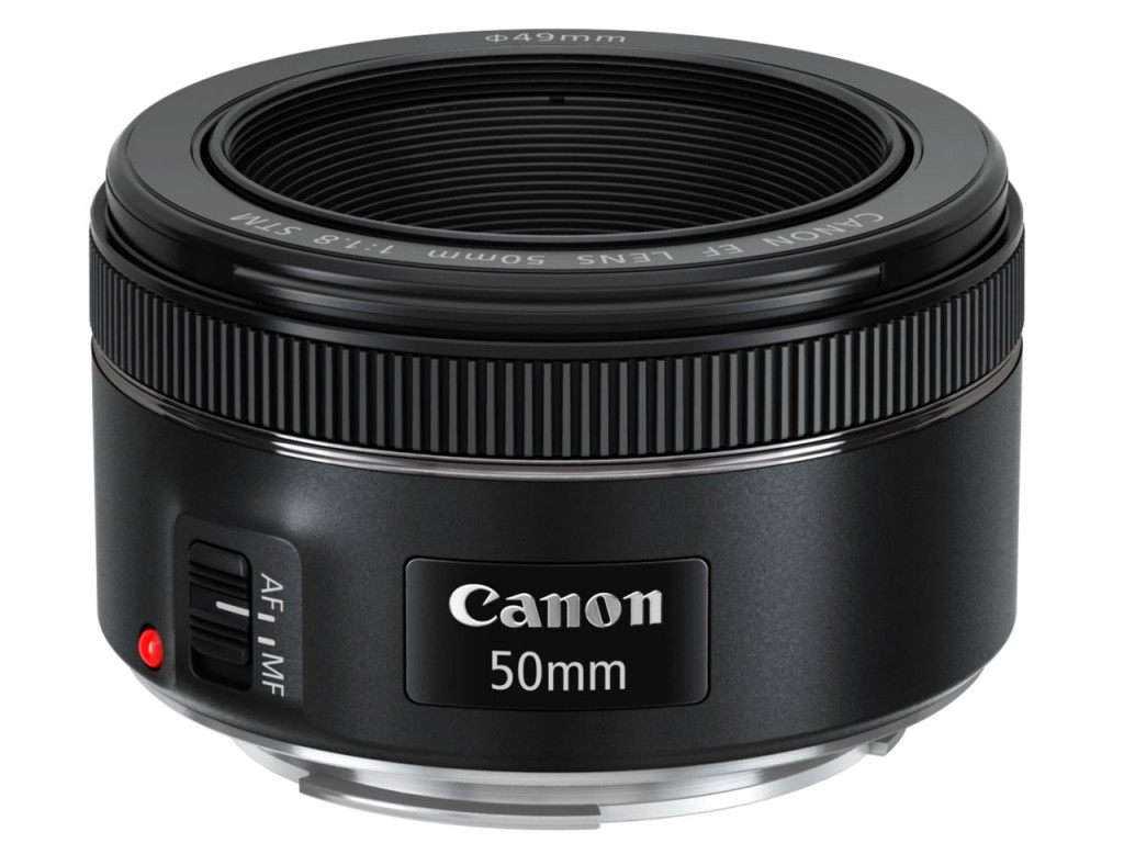 Canon EF50mm F1.8 STM発表画像