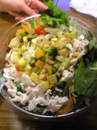 阪神百貨店地下の惣菜サラダ画像1