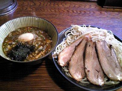 米子市ラーメン笑福のつけ麺画像2