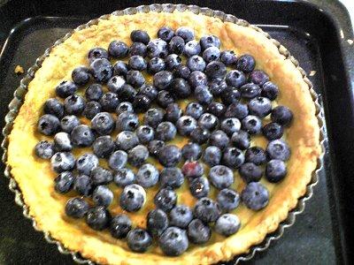 我が家のブルーベリーチーズケーキ画像1