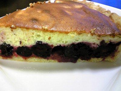 我が家のブルーベリーチーズケーキ画像4