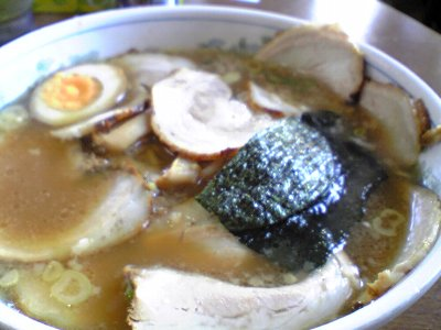 松江市の活力ラーメン花さかのチャーシュー麺画像2