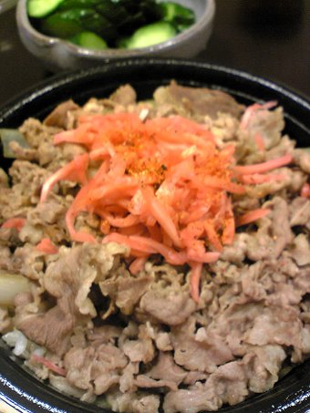 すき屋431号境港店のメガ牛丼画像2
