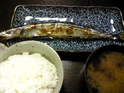 宮城県気仙沼産の秋刀魚画像
